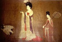 中国 * Чжоу Фан * Zhou Fang / Чжоу Фан (кит. трад. 周昉, пиньинь: Zhōu Fǎng; конец VIII — начало IX веков) — китайский художник периода Тан, работавший в 780—810 годы. Биографические сведения о Чжоу Фане сохранились благодаря трактату «Записки о прославленных художниках династии Тан» Чжу Цзинсюаня, критика, жившего в IX веке.