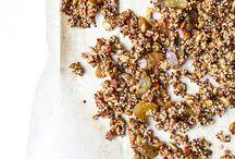 Break it fast or break it slow / #breakfast #granola #toast #pudding #yoghurt #fruit