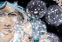 Alenka Melton Art / Handpainted original picture by Alenka Melton