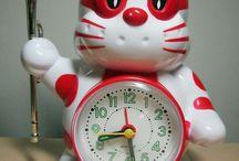 Rhythm vintage Japanese Alarm Clock