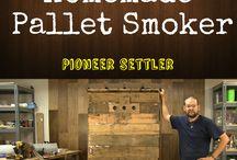 Pallet stuff and DIY / Smoker