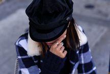 Boina feminina / A boina pode adicionar mais personalidade à sua composição, além de te manter elegante e quentinha.