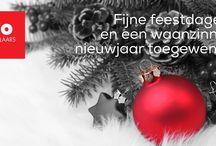 Fijne feestdagen / Wij wensen u...