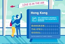 Valentine's Day Ideas / This board contains ideas on where to spend Valentine's Day. Based on search data volume from countries throughout the world, it showcases the top overall, regional, and even country specific romantic getaways! / by Amadeus IT Group