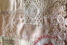 Make a table runner or table cloth out of doily