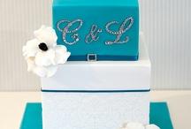 WEDDING CAKE TURQUOISE