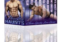 Naughty Haunts / Eleven Spooky Love Stories  Including BBW, BDSM, Contemporary, MM, Menage New Adult, Paranormal, Shapeshifter, Speculative Fiction, Stepbrother Romance  & Witch from bestselling authors  Pre-order Now – Downloads on September 2nd  goo.gl/46z7kY