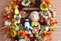 Fall-Autumn Wreaths - by Irish Girl's Wreaths