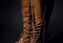 JM: leather shoes