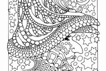 Coloring pages / by Robin Cleveland