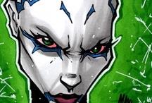 Supervillains - Asajj Ventress
