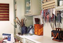 Craft Room Ideas / Designing and organizing an art/craft studio that you love. / by Jamie Gollersrud Matheson