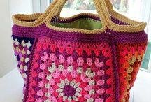 Crochet jacket/bags