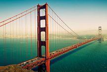 Fotobehang Steden / City / Van San Francisco tot Venetië, van New York tot Parijs