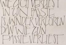 huiswerk   ...   humanistisch cursief