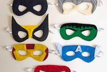 Maschere di supereroi