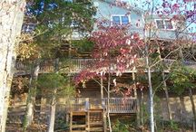 Vacation Cabin Rentals / View vacation cabin rentals on Norris Lake.