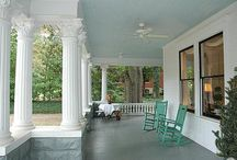Wraparound porches / by oldhouses.com