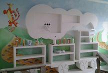wnętrza, pokój dziecięcy