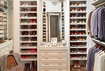 Closet | Storage | Shelving / Great storage solutions, high functioning closets and shelving that look good too.
