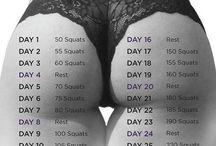 30 дней приседаний