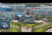 Art of Animation Resort / Disney's Art of Animation Resort offers Family Suites with 2 full bathrooms, a kitchenette, spacious living rooms and enough space to sleep up to six. The Little Mermaid standard rooms sleep up to 4.