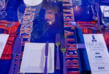 Bar/Bat Mitzvah: Philadelphia Themed / Choosing your favorite place to visit or a place that is close to your heart is a great theme for a Bar or Bat Mitzvah. Our Bar Mitzvah boy has a special place in his heart for Philadelphia, so Linzi Events took all of the things that give meaning to the famous city and brought them to his celebration.