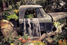 Shop landscaping