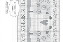 Cross stitch patterns - Sheep