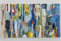 Denis Pellerin / Né à Ham-Nord en 1953, Denis Pellerin vit et travaille à Montréal. Il a obtenu un baccalauréat en arts visuels de l'Université du Québec à Montréal en 1984. À partir de divers médiums — peinture, dessin, collage —, Denis Pellerin travaille à la construction d'un univers qui lui est bien personnel et qui est marqué par la récurrence de certains signes graphiques.