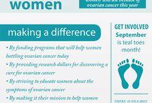Teal / Ovarian cancer.