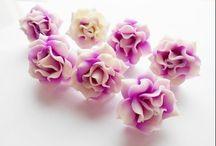 kvety z marcipanu