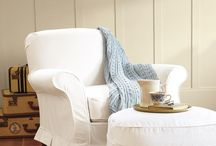 Purty up my chairs! / Slipcover ideas for my swivel gliding chairs.