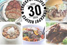 Recipes - Crock Pot Meals / crock pot recipes | crock pot meals | slow cooker recipes | slow cooker meals | easy crock pot recipes