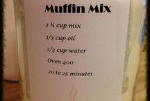 Premixes for baking