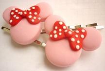 Hair pins / Polymer clay hair pins! Handmade with love by me!