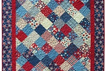 Red, white & blue quilts / by Donna Richardson