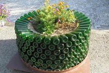 reciclado de botellas y plasticos