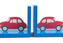 Engeltjes & Draken | Bookends / Hold your books in place with these colorful bookends.