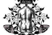 Nouvelle collection - Le corps humain / Croquis préliminaire de Michaël Cailloux