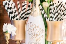 SIGNATURE COCKTAILS / Wedding beverage displays and decor / by Perfect Wedding Guide (National)
