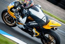 British Super Bikes / British Superbikes and their riders from the Superbike team and the support races.