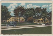HINSDALE SANITARIUM AND HOSPITAL / A glimpse of Hinsdale Sanitarium and Hospital, Hinsdale, IL, USA. Founded in 1904 and run ever since by the Seventh-day Adventist Church. Now part of Adventist Midwest Health.