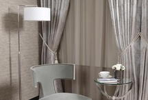 Draped / curtains, tiebacks, curtain ties, folding blinds, shutters