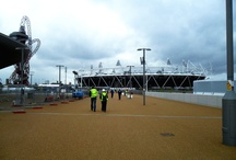 Olympics 2012 - 100 Days to go / Pictures taken on site 100 days before the beginning of the London 2012 Olympic Games