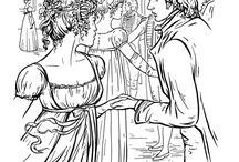 Színezés - Jane Austen
