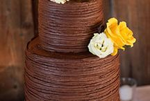 Cakes: Chocolate Wedding / NOT my work. Just gorgeous cakes I love. / by Sheena House