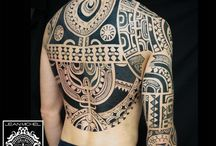 Tattoo marquesan