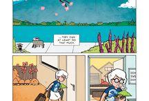 Learning English through comics