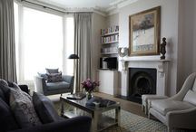 STYLING BY NATALIE FERNBACH AT CULLUM DESIGN / These are styling projects other than my house staging projects. With this board, I worked with the hugely talented Dylan Thomas (interiors photographer) and Woolf Interiors (interior Architects). Fun days....